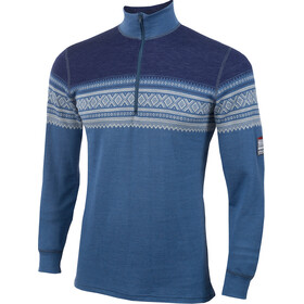 """Aclima M's DesignWool Marius Mock Neck Shirt Finnemarka"""